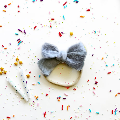 BIRTHDAY BOW | STORM TIE DYE