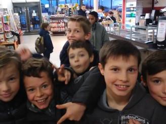 Classe de neige à La Bourboule : lundi 22 janvier