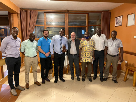 5/6/21 From the Heart of Uganda: Business & Personal Thoughts with VP, Charlie Hedges.