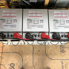 48v Lithium Ion battery bank