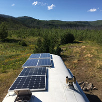 Solar working its magic in Glacier NP