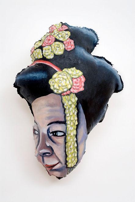 Self-Portrait With Geisha's Hair.jpg