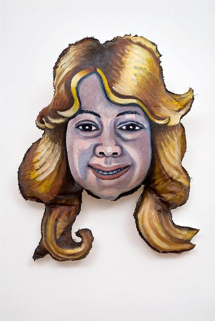 Self-Portrait With Farrah Fawcet's Hair.