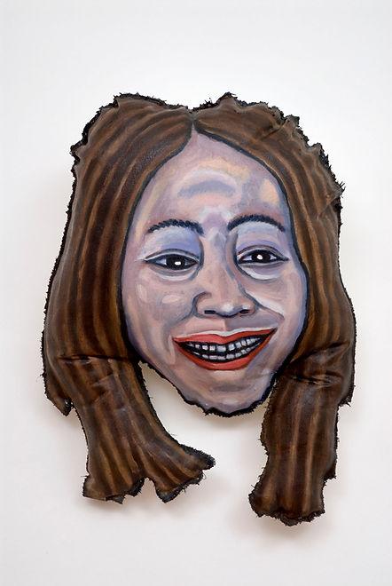 Self-Portrait With Whoopi Goldberg's Hai