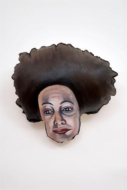 Self-Portrait With Tamara Dobson's Hair.
