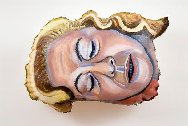 Self-Portrait With Marilyn Monroe's Hair