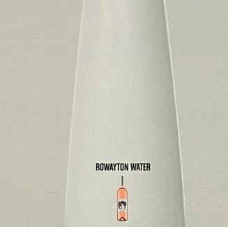 Rowayton Water - Rose - Water Bottle