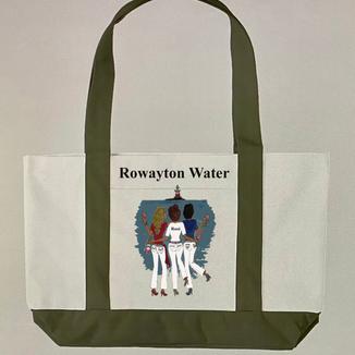 Rowayton Water - Rose - Tote Bag