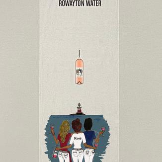 Rowayton Water - Rose - Towel