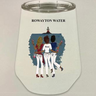 Rowayton Water - Rose - Metal Cup