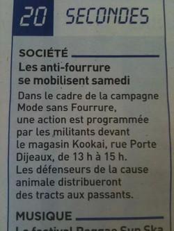 14 déc 2013 - 20 Minutes Bordeaux