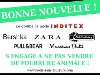 Zara, Bershka, Pull&Bear, Massimo Dutti et Stradivarius s'engagent officiellement !