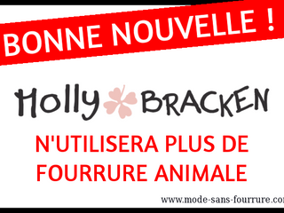 Molly Bracken dit STOP à la fourrure animale !