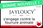 JAYLOUCY s'engage contre la fourrure animale