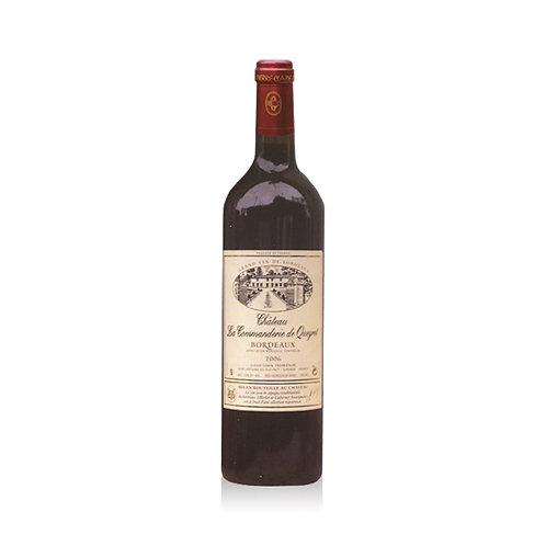 La Commanderie de Queret - Bordeaux Rouge