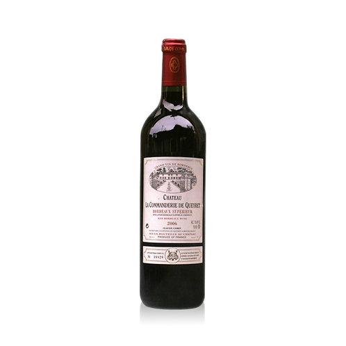 La Commanderie de Queret - Bordeaux Rouge Supérieur