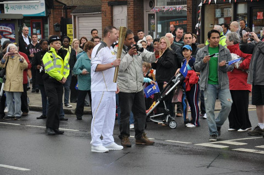 Olympic Torch in Luton 2012
