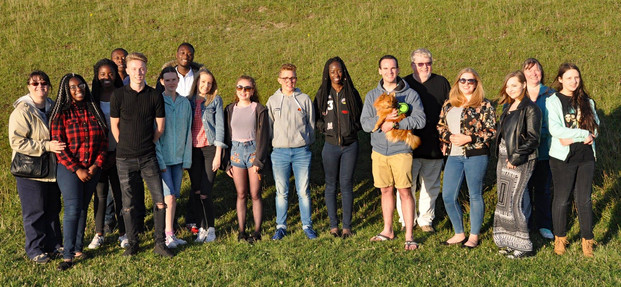 An evening with the young people at Dunstable Downs