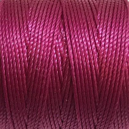 Nylon S-Lon Cord - 0.6mm - Magenta - x 10 Metres