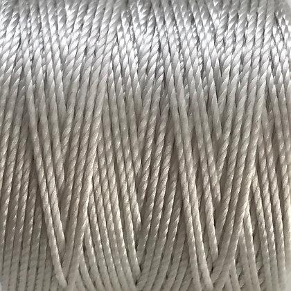 Nylon S-Lon Cord - 0.6mm - Cream - x 10 Metres