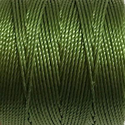 Nylon S-Lon Cord - 0.6mm - Avacado - x 10 Metres