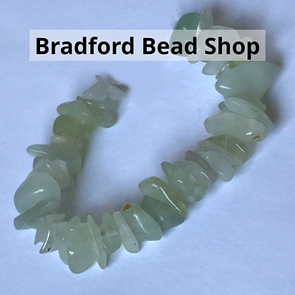 New Jade Chip Beads - app. 7- 4mm
