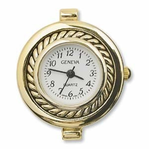 Watch Face - Round - Gold Colour