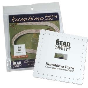 Kumihimo Braiding Plate 6 inch (Square)