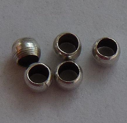 Crimp Beads - Antique Silver Colour