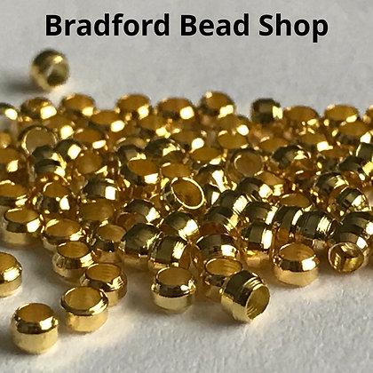 Crimp Beads - Gold Colour