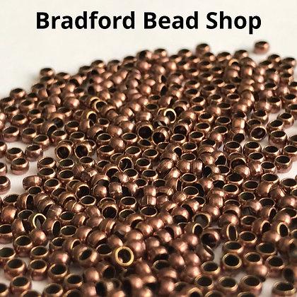 Crimp Beads - Antique Copper Colour