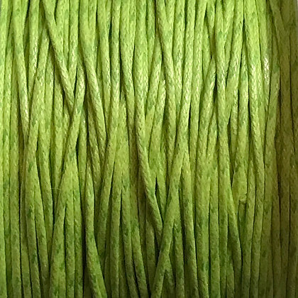 Waxed Cord - 1mm - Watermelon - x 10 Metres