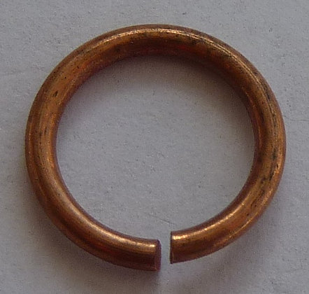 Jump Rings - Copper Colour - 10.5mm