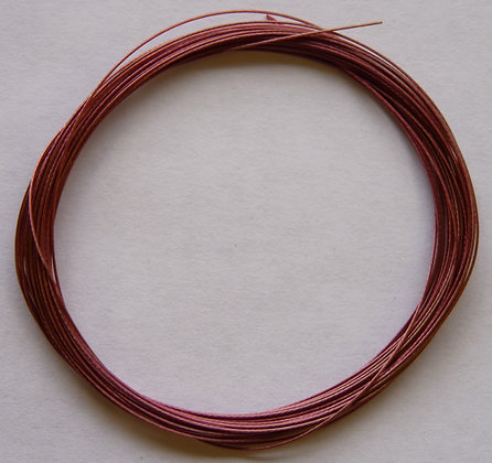 Tiger Tail Wire - 0.38mm - Pink - x 5 Metres