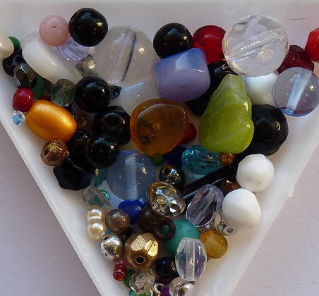 Glass Mixed Beads - (002)