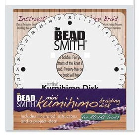 Mini Kumihimo Braiding Disk 4.25 inch (Rnd)