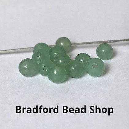Adventurine Beads - 4mm