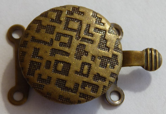 Two Stand 'Turtle' Clasp