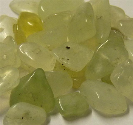 New Jade Chip Beads - app. 7-4mm