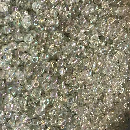 Translucent Rainbow Glass Seed Beads - Size 8