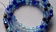 Glass Faceted Beads