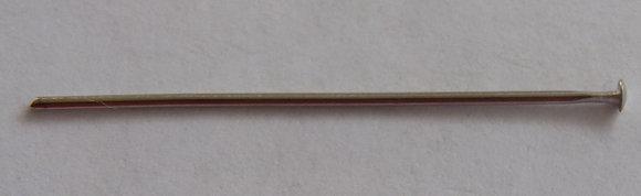 Head Pins - Silver Colour