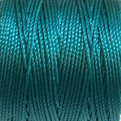 Nylon S-Lon Cord - 0.6mm - Teal - x 10 Metres