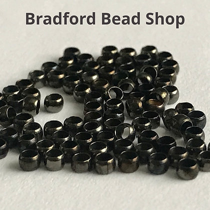 Crimp Beads - Antique Bronze Colour