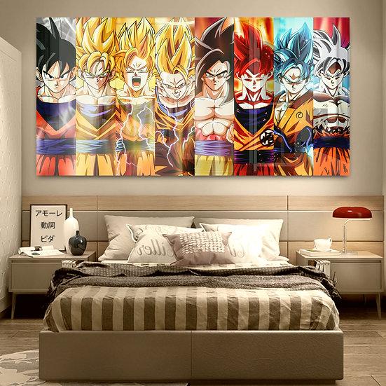 Goku All SSJ's