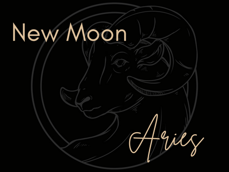 New Moon Aries - 12th April 12.31pm AEST