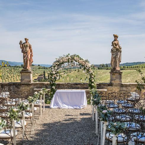 Ceremoni @VillaCorsini a Mezzomonte