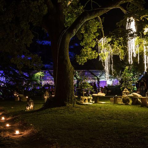 Night Dinner in the Garden