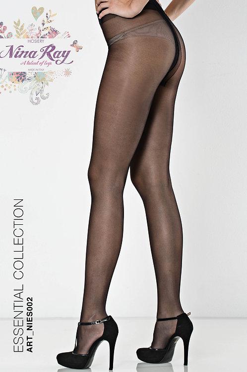 NIES002 • Nylon Non Run Pantyhose -  Lycra Fusion