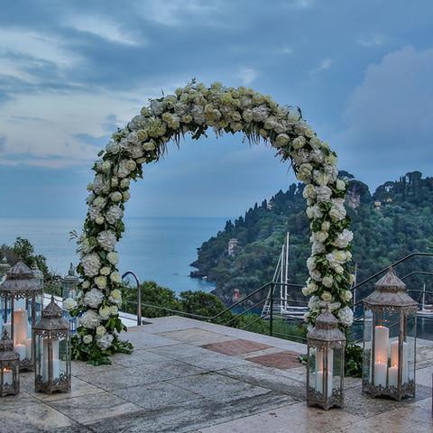 Ceremony in Portofino